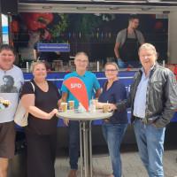 Mitglieder der SPD Trostberg in Garching