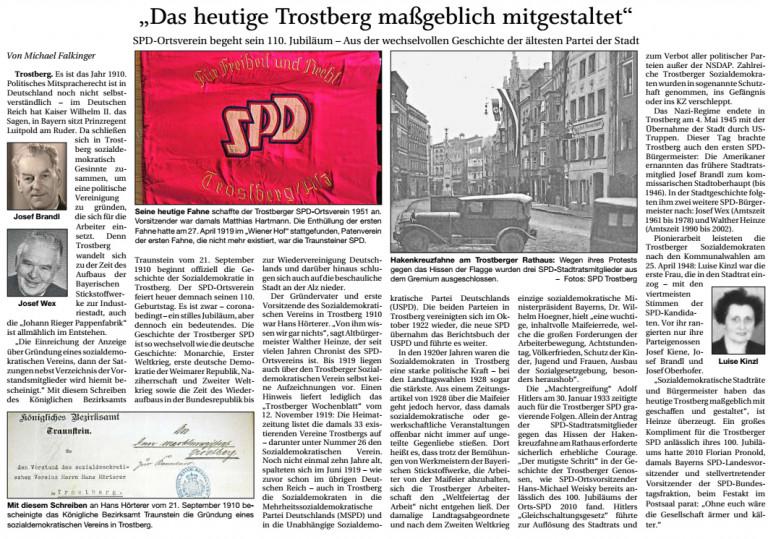 110 Jahre SPD Trostberg Bild 2